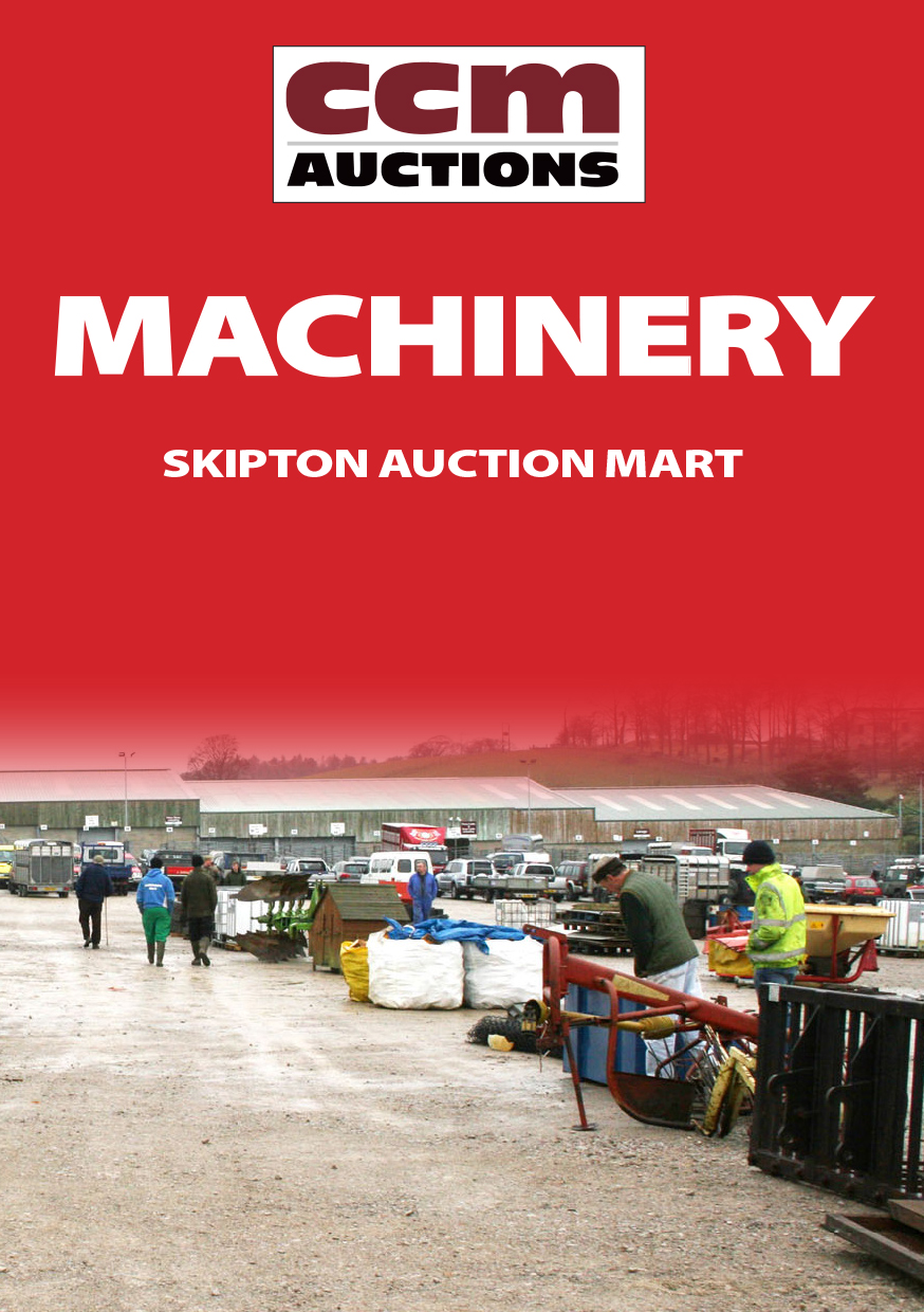 MARKET REPORT - ONLINE MACHINERY AUCTION - WED 1st JULY